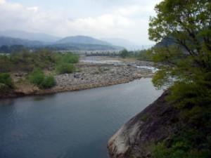 下荒井橋 下流域