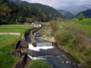 弁慶岩橋 付近