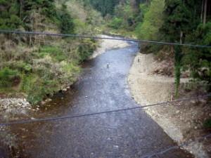 杉山橋 付近