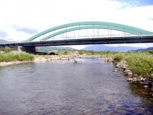 勝山橋 付近